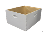 #C105  10-Frame Commercial Painted Deep Hive Body   $30.95