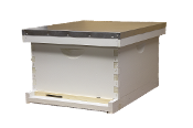 #H121 10-Frame Single Deep Hive Painted  $99.85