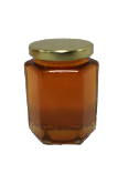 #G923  Hexagonal Jar  8 oz. (Cs 12)  $15.75