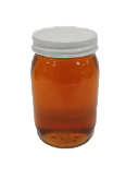 #G930  Pint Glass Jars w/Lids (Cs 12)  $17.95