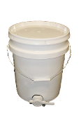 #B506  Plastic Bottling Pail w/Honey Gate   $29.95