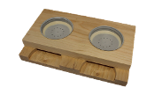 #F532  Double Wooden Entrance Feeder w/Cap  $8.50