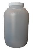 #P975  Gallon Plastic Jars (4)  $14.75