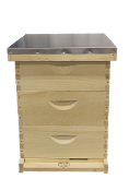 #H112  10-Frame Triple Medium Hive Unassembled  $95.65