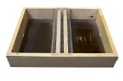 #F500  10-Frame Wooden Top Hive Feeder w/Epoxy $26.95